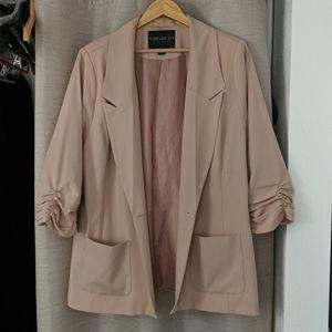 3x blazer pink